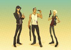 Three Amigos by hellcorpceo on DeviantArt