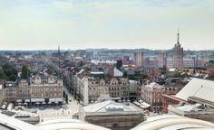 #Leuven. The Leuven skyline on a sunny day. #bluesky #skyline #city
