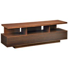 "Furnitech SAMBA 71"" Contemporary Media Console TV Stand in Autumn Cherry"