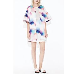 This FCUK coat is so fun! perfect for a summer occasion. pair it with a white cocktail dress and look DIVINE White Cocktails, White Cocktail Dress, Pairs, Boutique, Coat, Summer, Fun, Dresses, Women