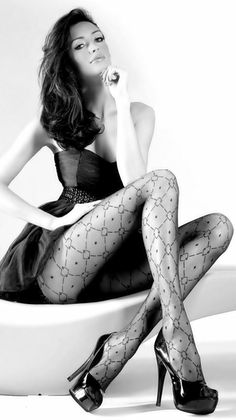 and sexy stockings and even sexier legs Hot Girls, Stockings Legs, Fishnet Stockings, Beautiful Legs, Beautiful Women, Sexy Legs, Nylons, Pantyhose Heels, Black Pantyhose