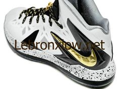 c7102ffe433 579834 100 LeBron X PS Elite White Metallic Gold Black Nmd Sneakers