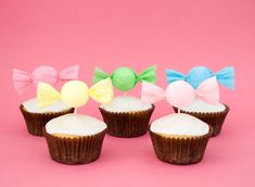 How to make a candy cupcake topper • CakeJournal.com