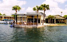 Port hotel and Marina - Home of the Manatee, Crystal River Florida. ~ formerly the Port Paradise Hotel. Best place to stay. Very pretty. Friendly, helpful staff. Good food. Kitchenettes that are furnished(when I last stayed, in the 1990's). You can see the Manatees from your room. God's most genteel creatures. February is the best month to go.