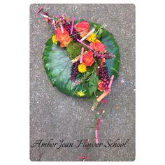 Bespoke Sympathy Design Short Courses, Bespoke, Flower Arrangements, Amber, Crafty, School, Floral, Green, Flowers