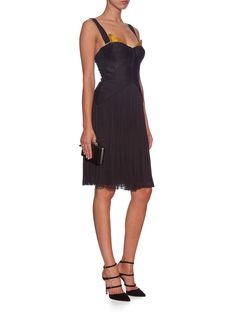 Nastia silk-tulle midi dress | Maria Lucia Hohan | MATCHESFASHION.COM