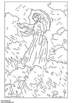 Página para colorir Monet - img 3120.