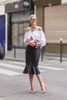 Sophie Valkiers - Paris Haute Couture Fashion Week Fall-Winter 2014/2015 Street Style