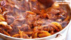 Korean Spicy Pork Bulgogi Recipe & Video - Seonkyoung Longest Spicy Pork Bulgogi Recipe, Ground Beef Bulgogi Recipe, Lettuce Wrap Recipes, Chicken Salad Recipes, Pork Recipes, Eggplant Rollatini Recipe, Riblets Recipe, Seonkyoung Longest