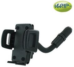 iGrip Handsfree car phone Holder KIT with Cigarette Lighter Mount for the Apple iPhone 5 by iGrip. $19.95. This combination cigarette lighter mount with flexible neck and phone holder provides a Handsfree option for your Apple iPhone 5 that can easily be removed and stored when not in use.  This mounting system does not require you to stick anything to your windshield or dashboard. It plugs into any cigarette lighter or 12-volt power receptacle and tightens instantly w...