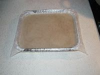 Bee Fondant instructions in detail | Bee Hive Journal with rye flour for protein for egg rearing in early spring . sub fresh ground wheat flour from vitamix.  7g protein per serving instead of 4g with Rye flour.
