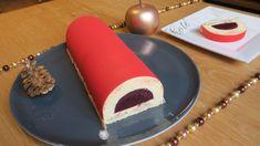 Pinky Cake, Bûche Amande Framboise de Christophe Felder