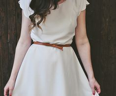 // Scallops, White Dress, Two Piece Skirt Set, My Style, Skirts, Photography, Beauty, Mondays, Dresses