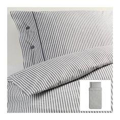Beautiful White and Gray Striped Pattern Duvet Cover and Pillowcases Twin Size Ikea Nyponros Ikea,http://www.amazon.com/dp/B00DQF3JL8/ref=cm_sw_r_pi_dp_wpVYsb1HK6D0HTTK