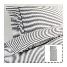 Beautiful White and Gray Striped Pattern Duvet Cover and Pillowcases Twin Size Ikea Nyponros Ikea,http://www.amazon.com/dp/B00DQF3JL8/ref=cm_sw_r_pi_dp_wpVYsb1HK6D0HTTK