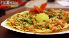 Spicy and Crunchy Masala Papad Rooftop, Guacamole, Spicy, Vegetarian, Restaurant, India, Meals, Vegan, Make It Yourself