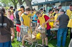LDS Members work with other faiths to serve communities.