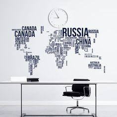 World map wall decal world globe wall decal travel stickers city world map wall decal world globe wall decal travel stickers city skyline scape decals living room bedroom office wall art home decor c082 pinterest gumiabroncs Gallery