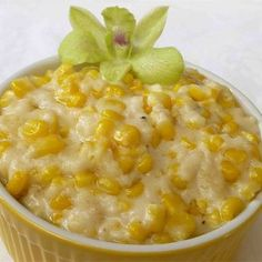 "Cream Corn Like No Other | ""This is the only way to eat creamed corn! I have made it with and without the Parm. cheese. It tastes amazing either way, just depends on your mood and if you want the parm flavor in there."""