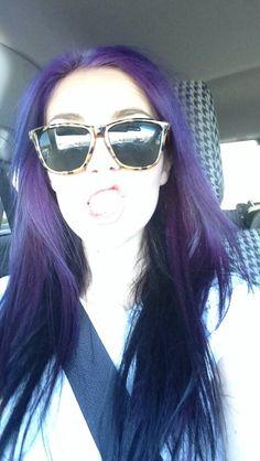 I want my purple hair back like now.
