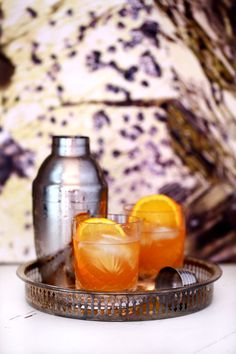 The Bonnie Prince - Hendricks Gin, Prince of Wales tea, orange, and honey. Very bonnie, indeed.