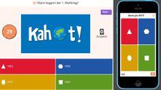 Kahoot! - das einfache Abstimmungstool. Quizfragen erstellen, die Schülerinnen und Schüler können über jeden Webbrowser Antworten abgeben. Auswertung erfolgt sofort.