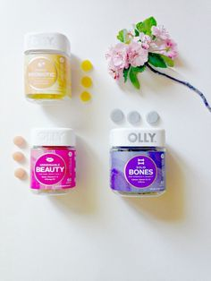 Because of Jackie: 3 ways to a better day with Olly vitamins (And they're completely vain, I promise!)