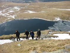 Snowdon's lake, lower levels of climb