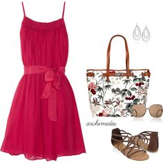 Sweet as Summer by archimedes16 on Polyvore