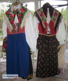 Folkdräkter Dala-Floda & Dala-Järna Folk Costume, Costumes, Scandinavian Embroidery, My Heritage, Historical Clothing, Handicraft, Folklore, Skirts, Clothes