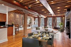 Coveted Tribeca Prewar Loft. 62 Beach Street 2D, Tribeca, New York, Represented exclusively by Arlene Weidberg. See more eye candy on this home at http://www.halstead.com/sale/ny/manhattan/tribeca/62-beach-street/3796346.