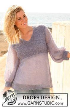 Картинки по запросу тонкий свитер из мохера спицами