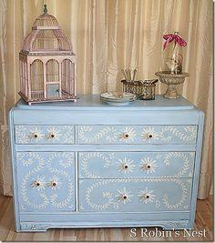 DIY Furniture Painting on Pinterest - Diy Hand Painted Furniture