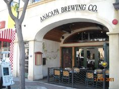 Anacapa Brewing Company. Great location downtown Ventura Ca. Really good food & great atmosphere! Nice patio to watch all the people walk by. 472 E Main St Ventura, CA 93001 anacapabrewing.com