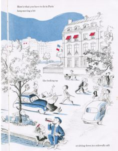 """""""Eloise In Paris"""", Kay Thompson, illustrated by Hilary Knight (Max Reinhardt - London 1958)"""