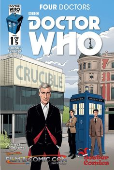Four Doctors #1 (Jester Comics Variant by Warren Pleece).