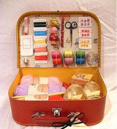 Have been looking for a larger sewing basket... this would work!