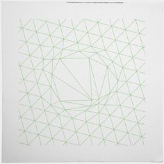 #111A disruption in the force – I seem to be stuck on line art this week, hope that is ok. – A new minimal geometric composition each day