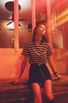Night Portrait, Outfit Goals, Couture Fashion, Movie Stars, Casual Wear, Korean Fashion, Cute Girls, Asian Girl, Work Wear