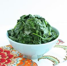 Coconut Creamed Spinach (Low Carb and Gluten Free) - I Breathe... I'm Hungry...