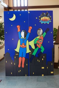 Create a great place to take pictures by using the option in the decorating transparencies! cokesburyvbs.com