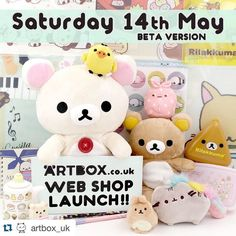 "Our good friends down at ARTBOX have some big exciting news! Let's support them (((o()o))) #Repost @artbox_uk with @repostapp.  Super exciting news which a lot of you have been waiting a long time for!! Drumroll... the ARTBOX.co.uk web shop (beta version) will be launching this Saturday 14th May!  Now you will finally be able to buy cute ARTBOX items from the comfort of your own home yay  So what does ""beta version"" mean?  We're still in the process of adding products to the shop  what you…"