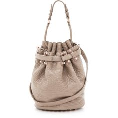 Alexander Wang Diego Bucket Bag found on Polyvore