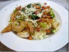 20 minute Shrimp and Grits!