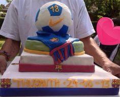 18 th Birthday Cake Barcalona fane cake