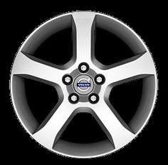 Turnus 17 x 7.5 Volvo #31255033 (color 938 Silverstone),