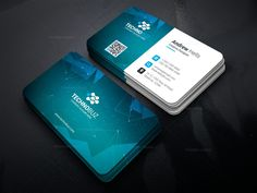 Space Technology Business Card Template 000752