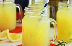 Show your school spirit by whipping up any of these team-inspired tailgating recipes, starting with War Eagle Lemonade from Auburn University! Tailgating Recipes, Tailgate Food, Cheers, Lynchburg Lemonade, Rosemary Lemonade, Homemade Lemonade, Whiskey Cocktails, Football Food, Football Fever