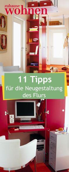 Mit unseren Tipps lässt sich der Flur sinnvoll nutzen!