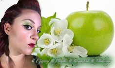 Green Apple Makeup | trucco verde | neve cosmetics intensissimi